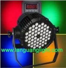 LED Par Can 54x3w waterproof
