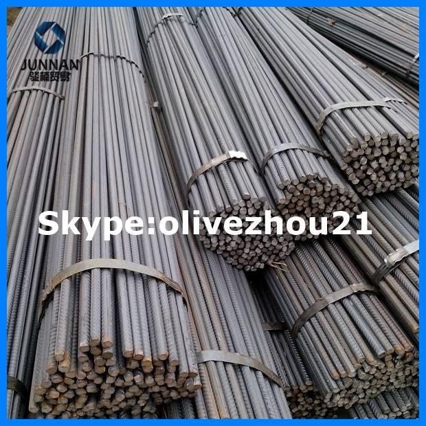 ASTM Heibei hot rolled rebar steel