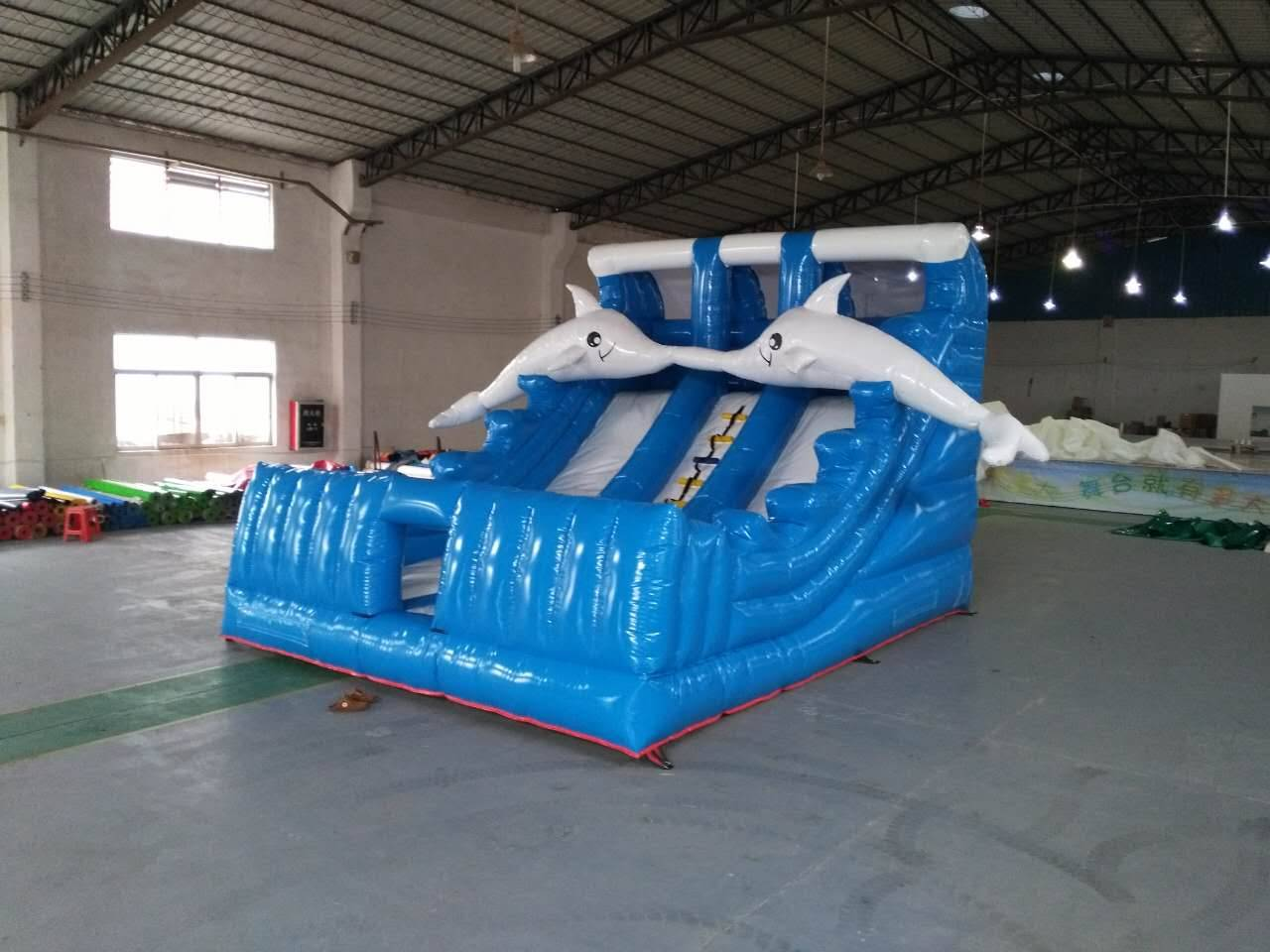 Dolphin Inflatable sliders with high quality