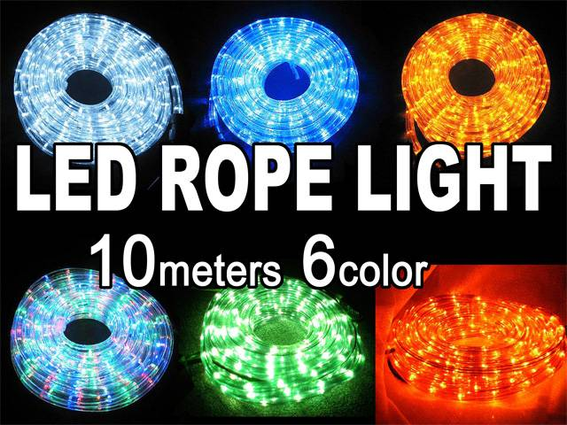 led 2 wires rope light