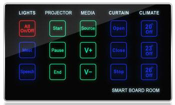 Meeting Board Room Control Touch Panel - SB-BoardSd-UN