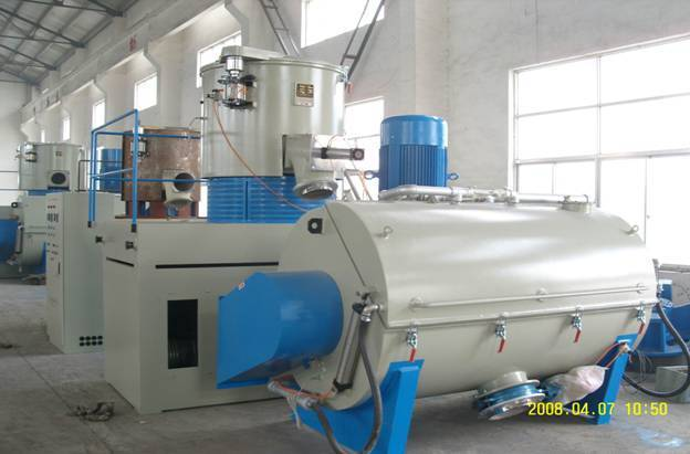 PVC heating and cooling mixer