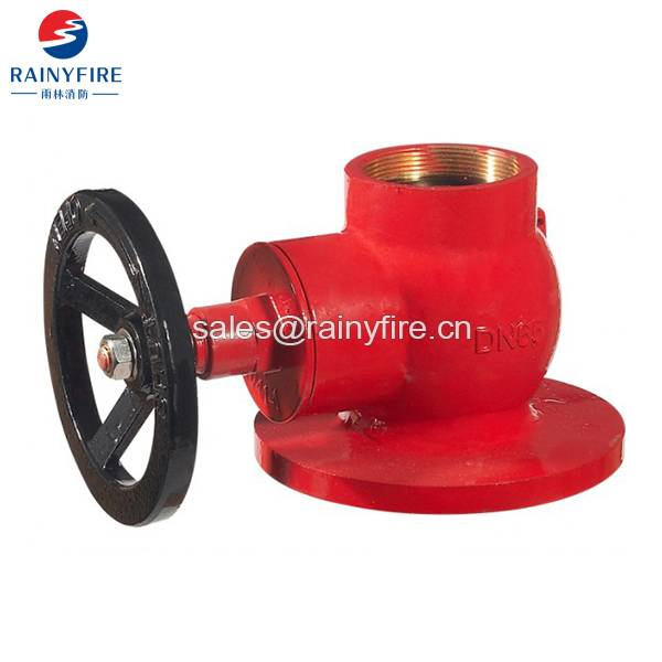Straight fire Hydrant valve with Flange