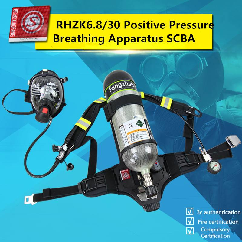 3C Compulsory Certification RHZK6.8/30 Positive Pressure Breathing Apparatus SCBA