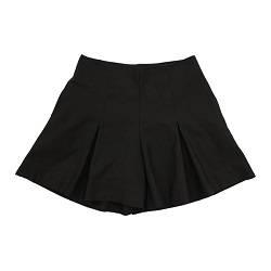 White / Black Culottes Pants