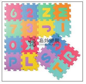 EVA  foam mat for child educational toys