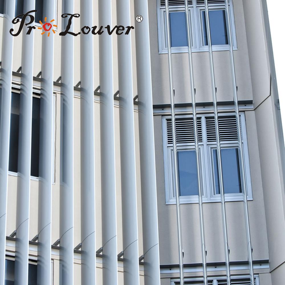 Factory price Aerofoil exterior window/screen