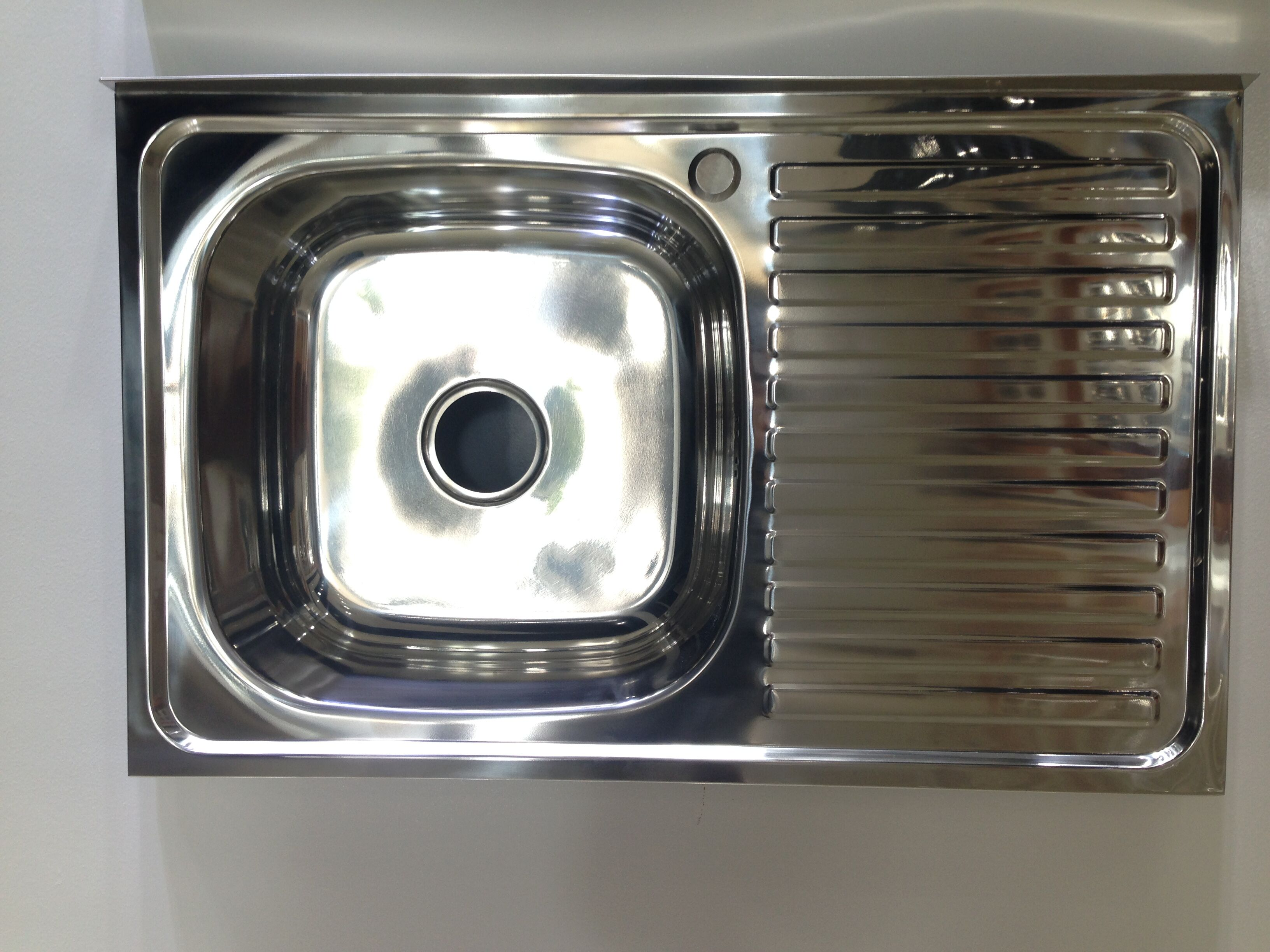 China top 10 wholesale above couner kitchen sink WY-8050SA