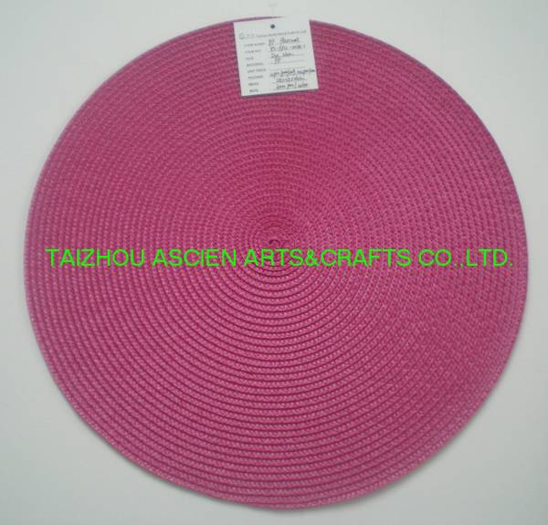 Round Placemats Waterproof Oilproof YS-PP12-003R