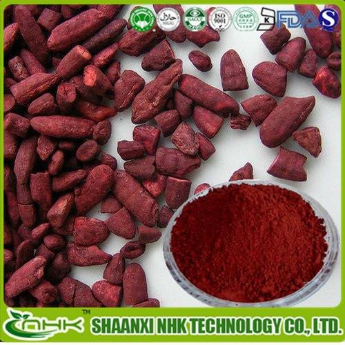 Natural High quality Monacolin / Red yeast rice Powder / Red yeast rice Extract