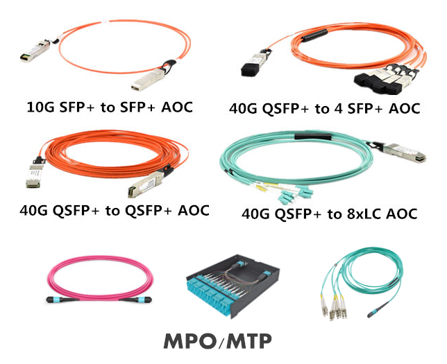 MPO/MTP fiber optic solution MPO /MTP Trunk Cables /fiber cabling