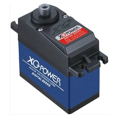 Servo XQ-POWER  9.6V High Voltage Digital Servo XQ-S4216D With Titanium Gear