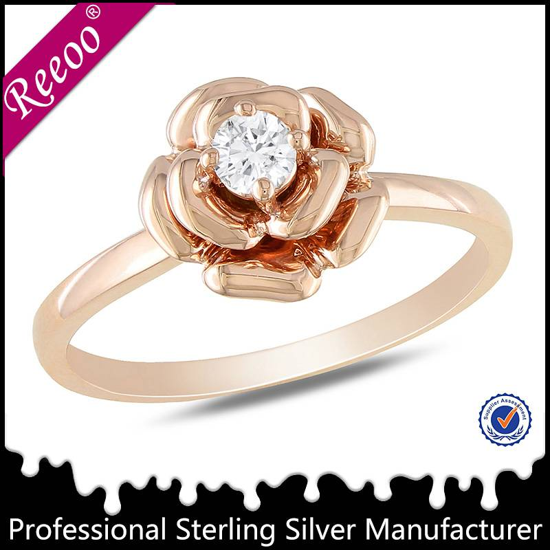 New design ladies finger ring stone ring from China