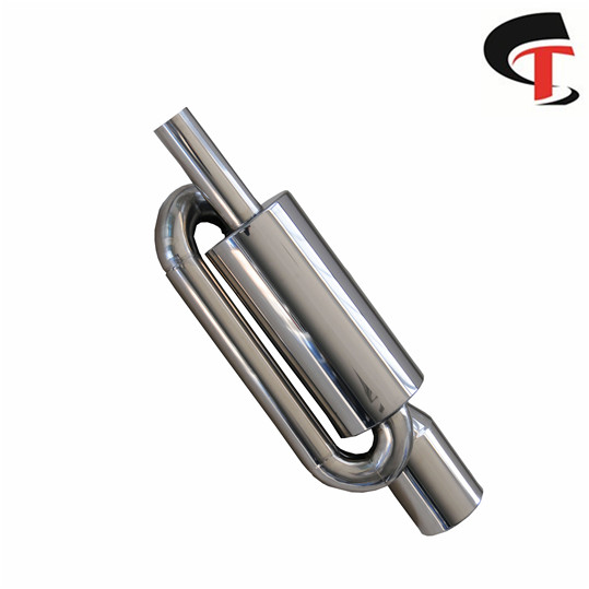 Auto Polished Exhaust Muffler