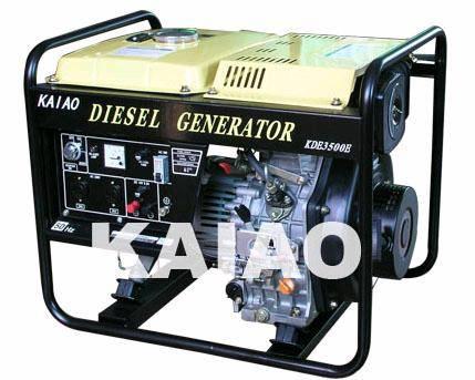 3.5KW Diesel Generator Set KDE3500E CE certification