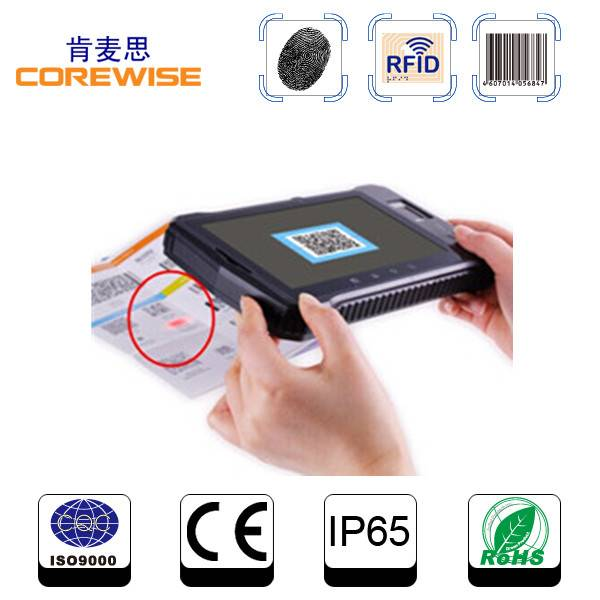 Dual-Core Android PDA with rfid hf reader, barcode scanner (A370)