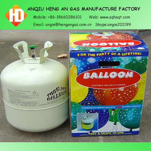 Balloon Helium gas cylinders