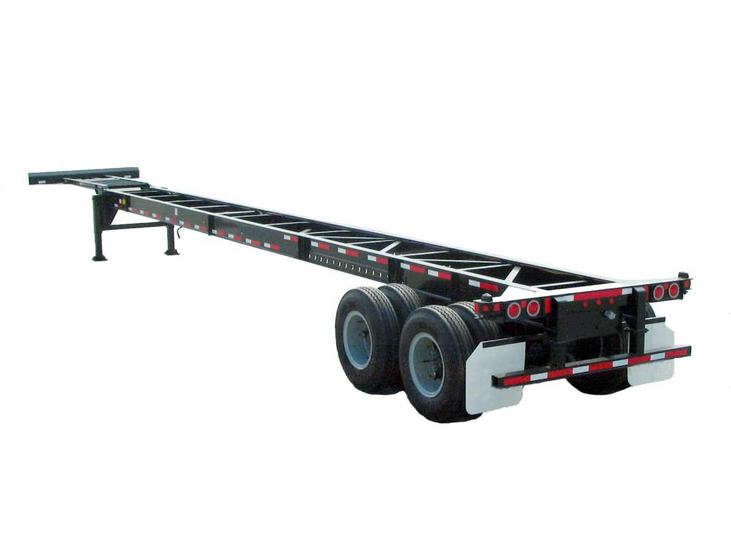 40ft 2Axles Gooseneck Container trailer