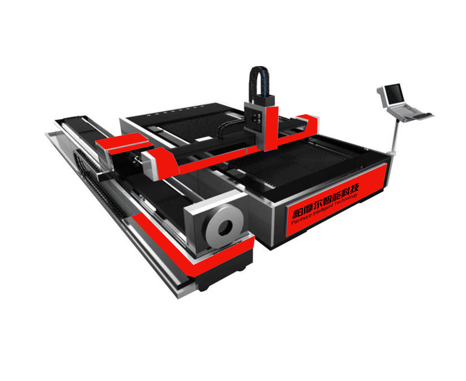 Metal Sheet & Pipes Fiber Laser Cutters with Affordable Price for Sale