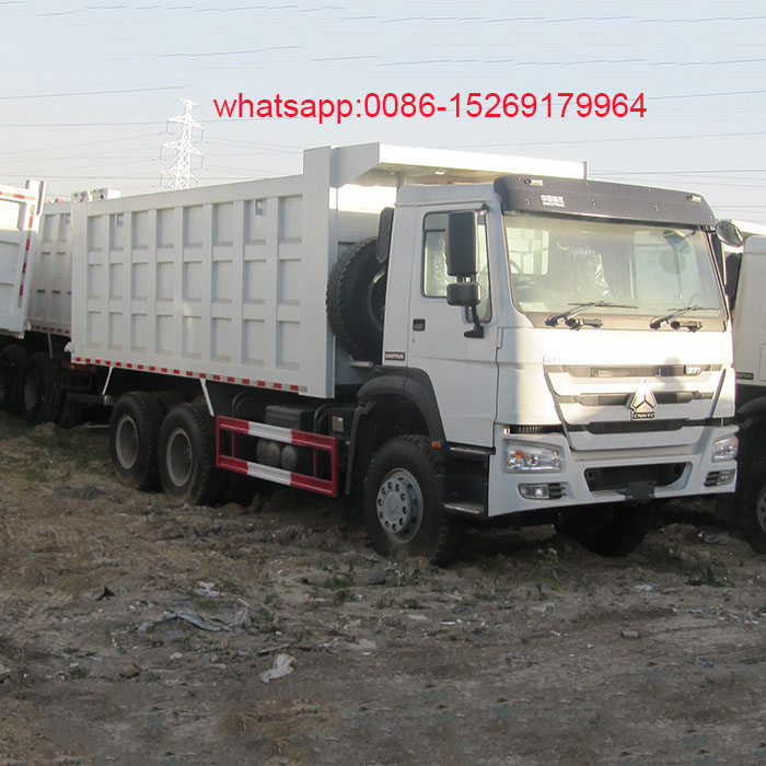 Cnhtc Sinotruk tri axle 10 wheel New Howo Dump Truck Price