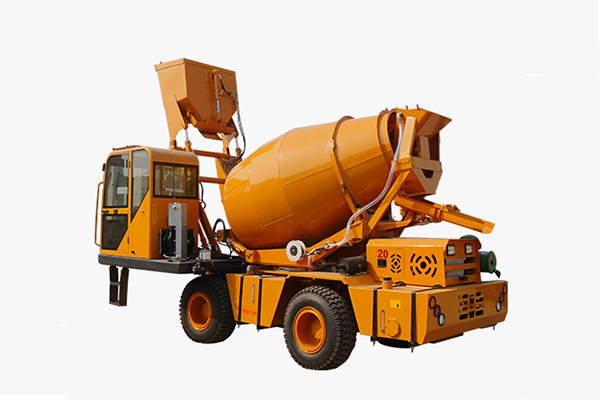 Self-loading Self-loading concrete truck mixer is a kind of mobile concrete mixing equConcrete Mixer