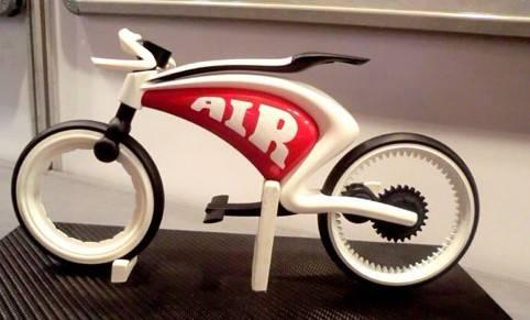 Bike plastic rapid protoype