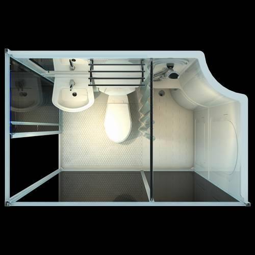 Hotel Prefab Bathroom Pod