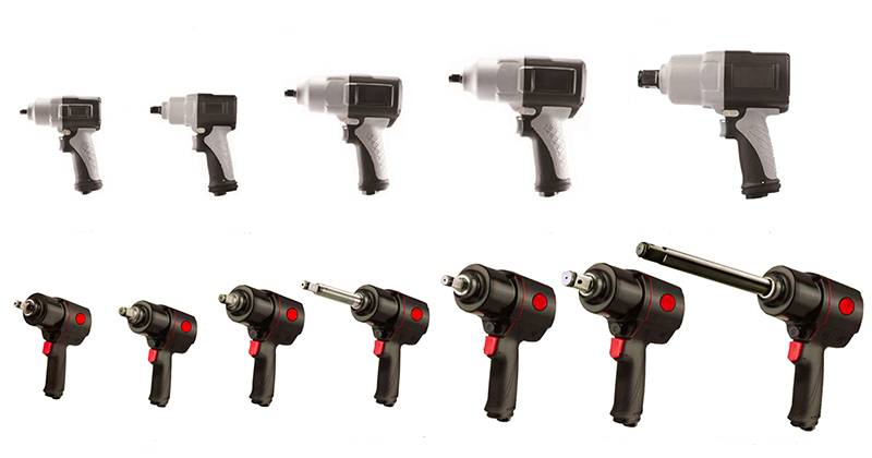 Air Composite Impact Wrench
