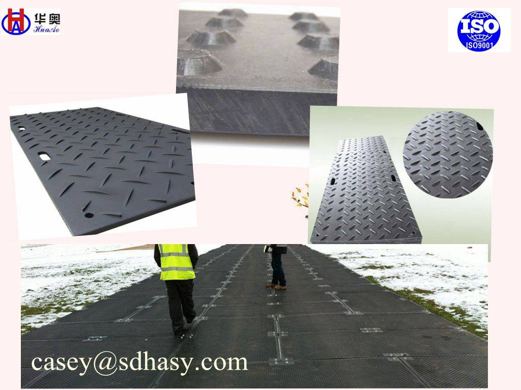 High quality plastic temporary road mats