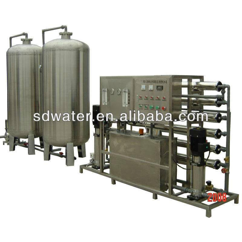 Stainless Steel 304 RO Drinking water treatment plant RO-1000J(6000L/H)