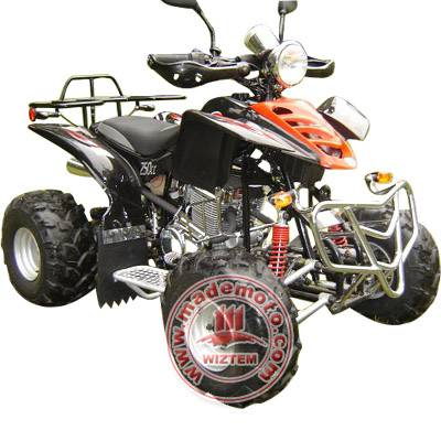 EEC Approved 4-Stroke 250cc Engine ATV with Hydraulic Shock Suspensions