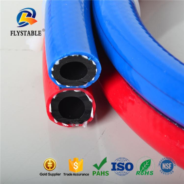 Anti--erosion PVC & rubber high--- intensity oxygen welding hose