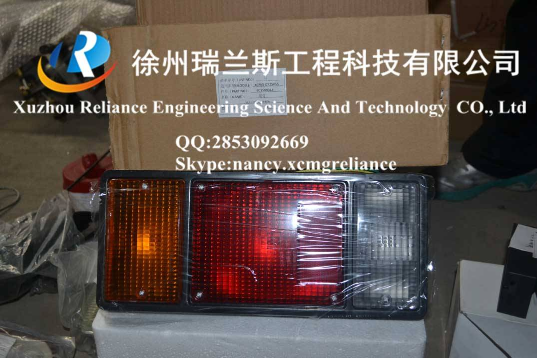 XCMG spare parts-crane-qy25k5s-tail lights-803500048