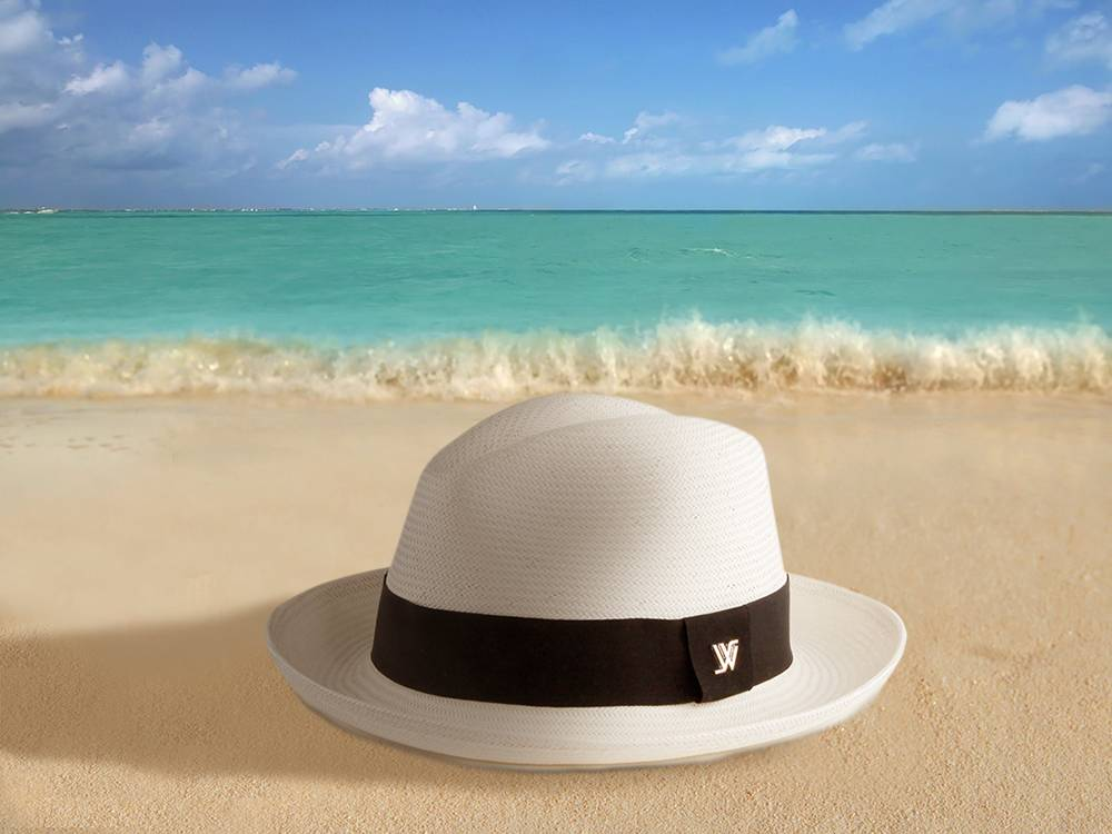 WHITE SANDS Japanese Toyo Hat