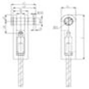 Crane used(suppressed) steel wire rope sling bag