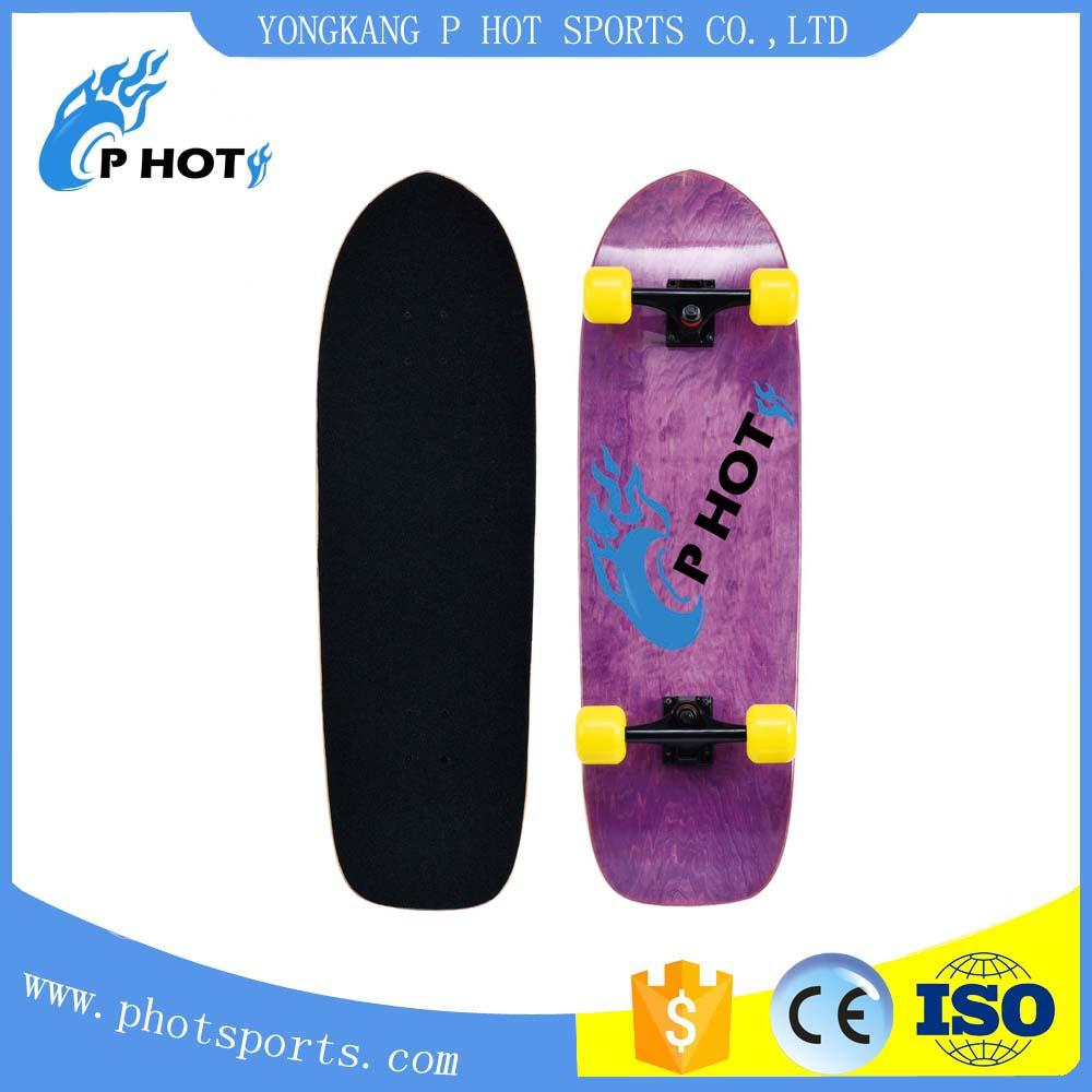 33 inch skateboard 7 layer Canadian Maple mini long board skate board skateboard