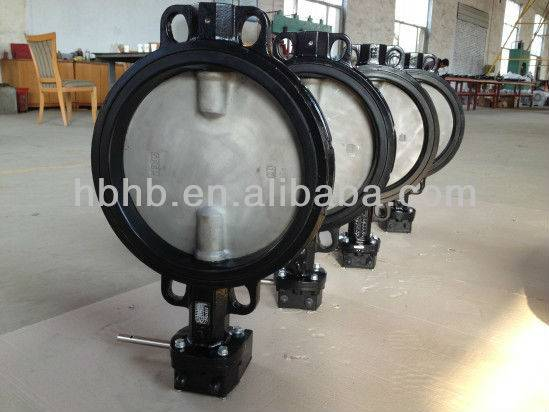 High performance Stainless Steel Butterfly Valve dn200