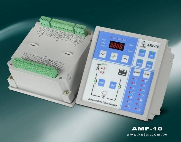 AMF-10 Automatic Mains Failure Control & Protection Module