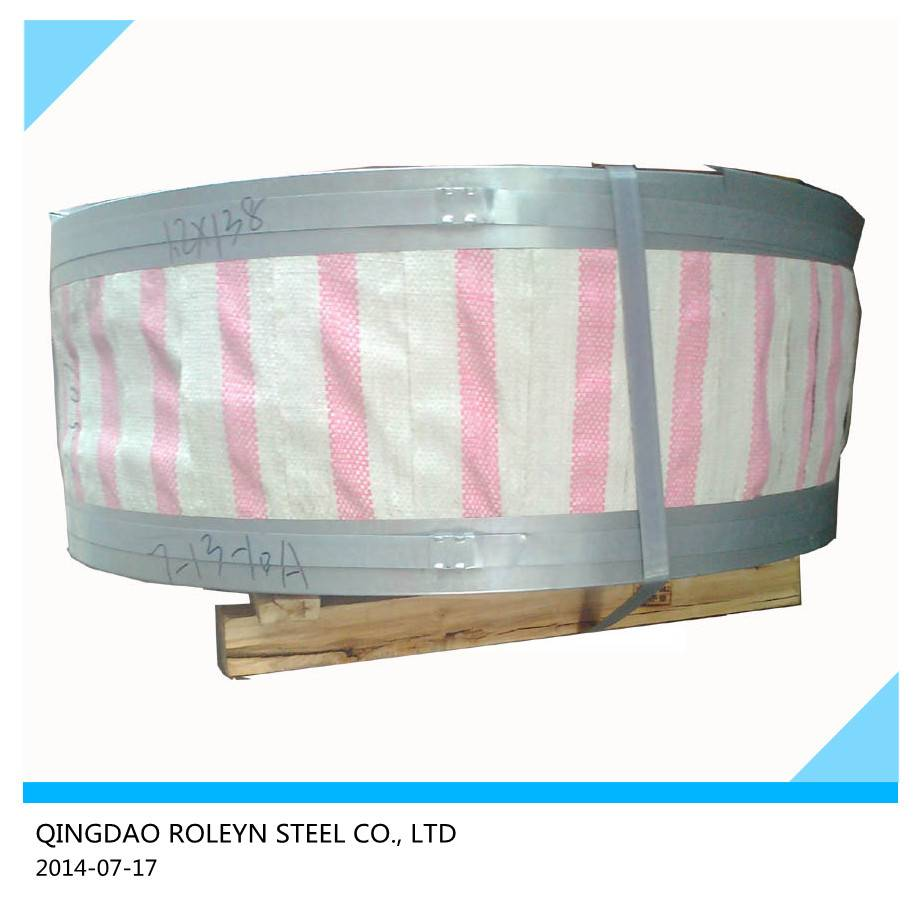 Hot deep Galvanised steel strips