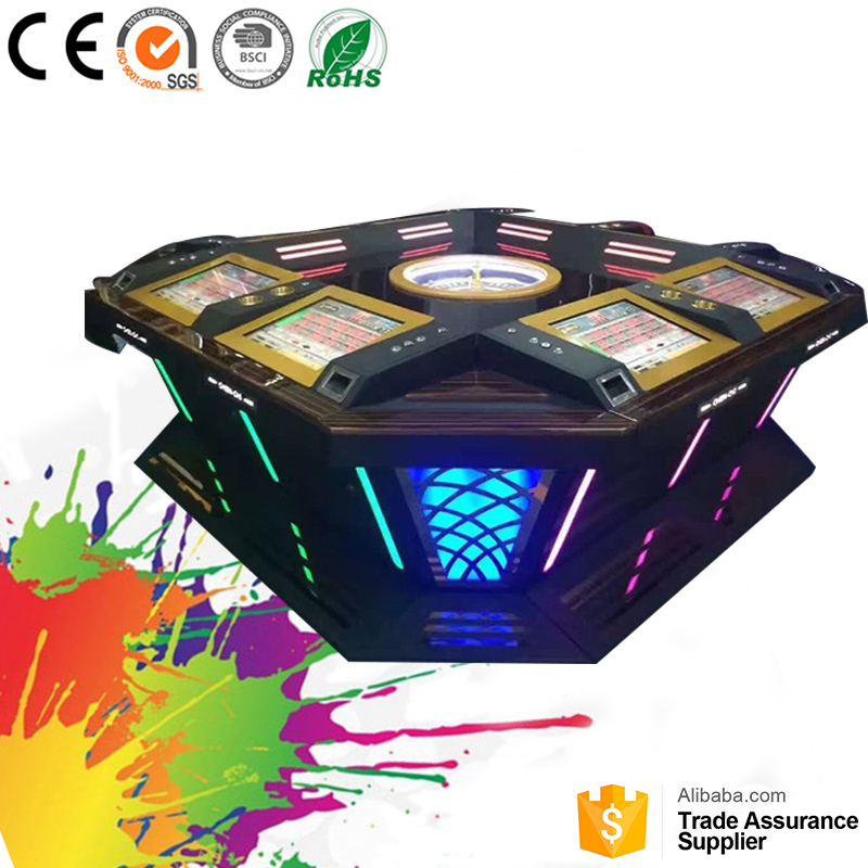 2017Popular passionate gambling roulette online game casino equipment for sale