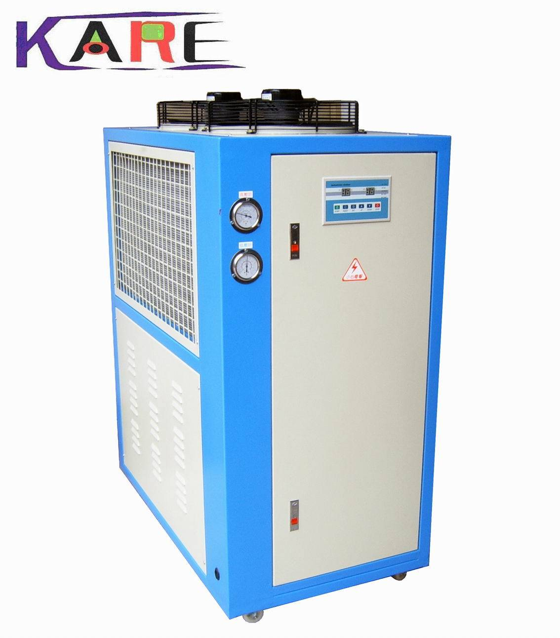 Scroll Chiller for plastic processing