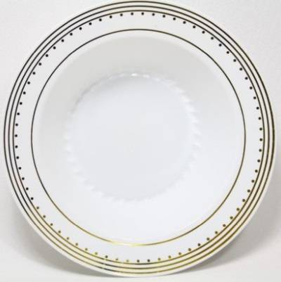 """GOLD 25 round disposable plastic 10.25"""" dinner plate very strong Birthday plates"""