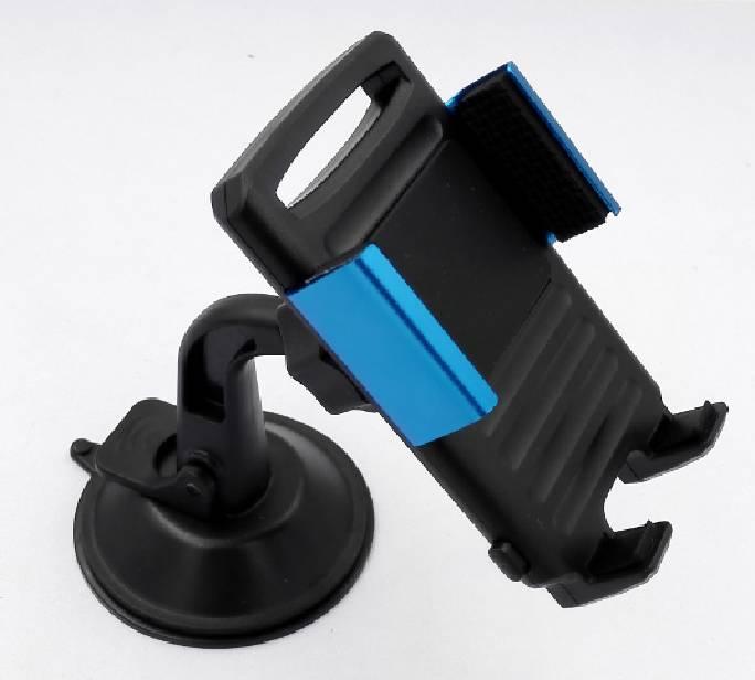 New Slim Car Phone Bracket Mount Holder With Aluminum Clip