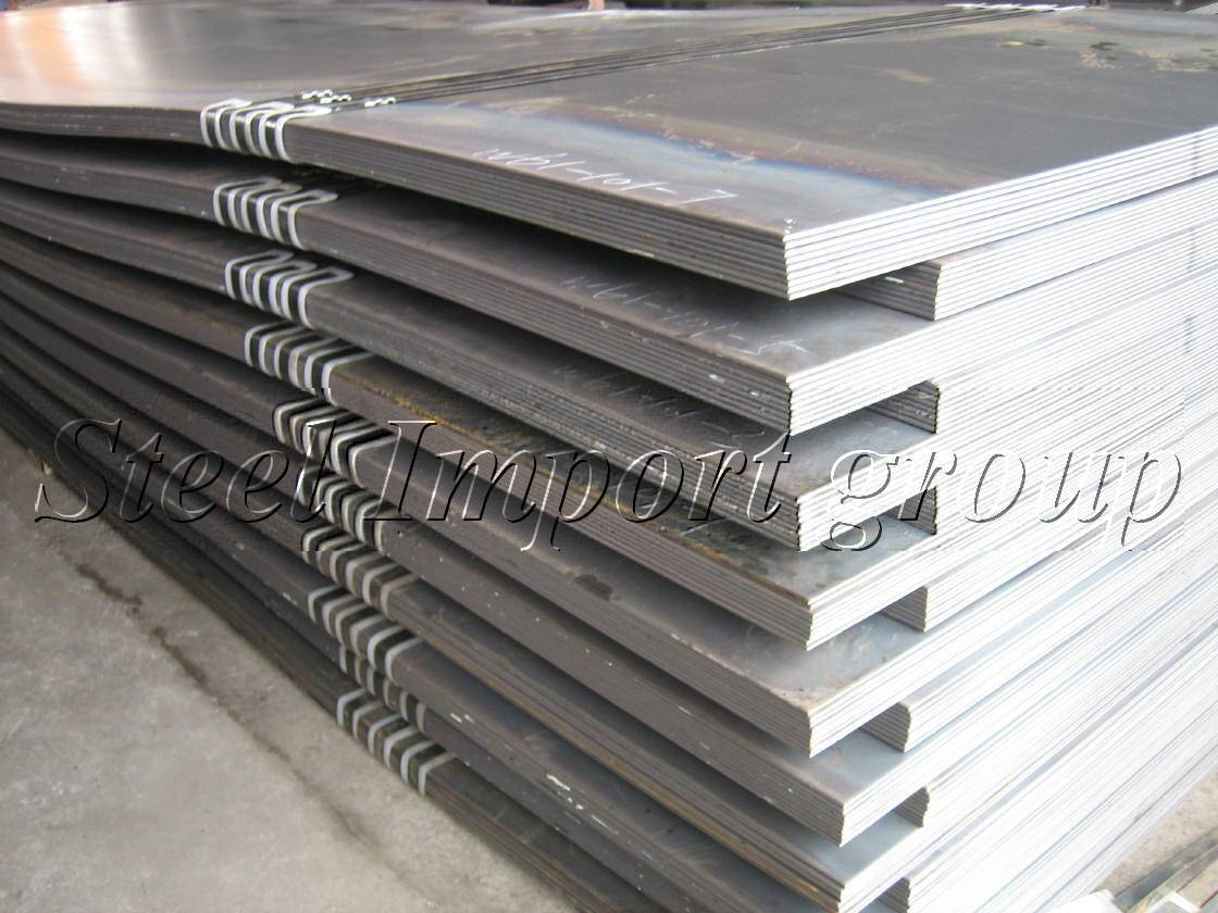 sell plates 6-60mm thicks S235JR and S355J2G3 CIF Europe