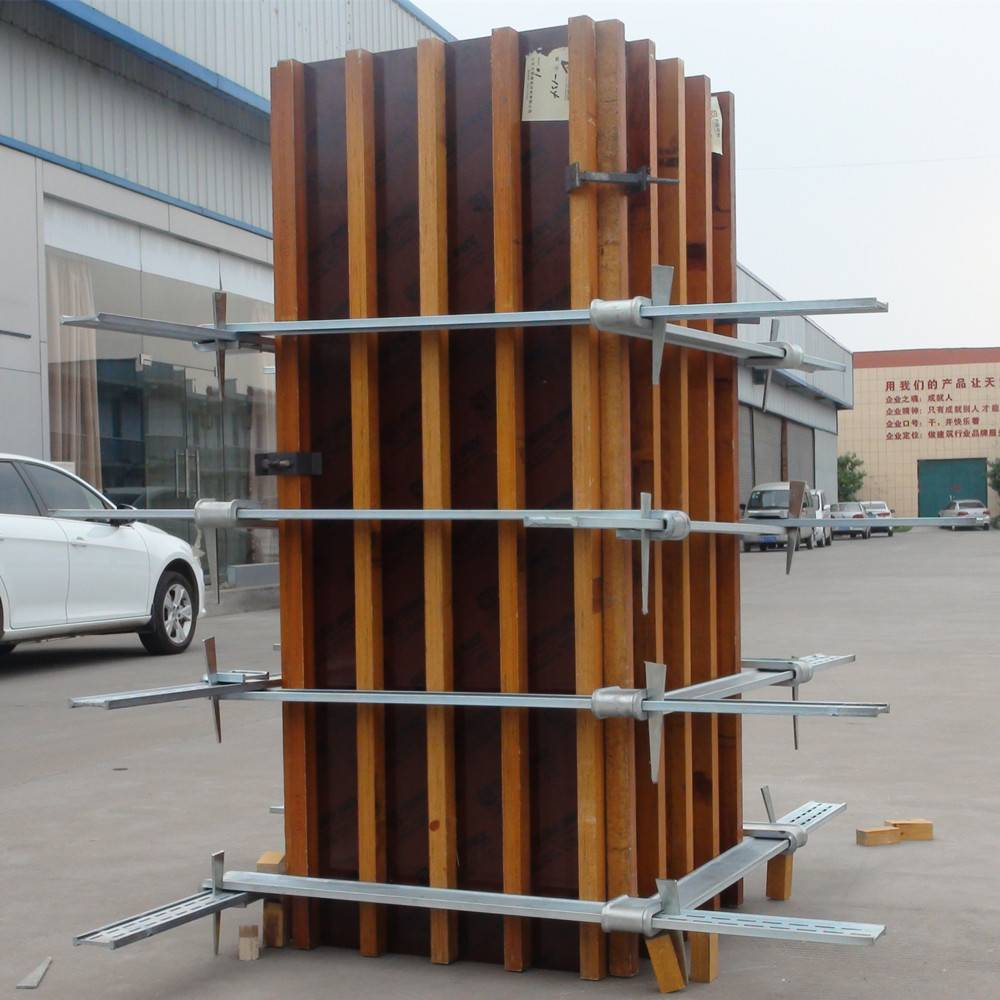 plastic plywood for concrete column formwork save cost,save money