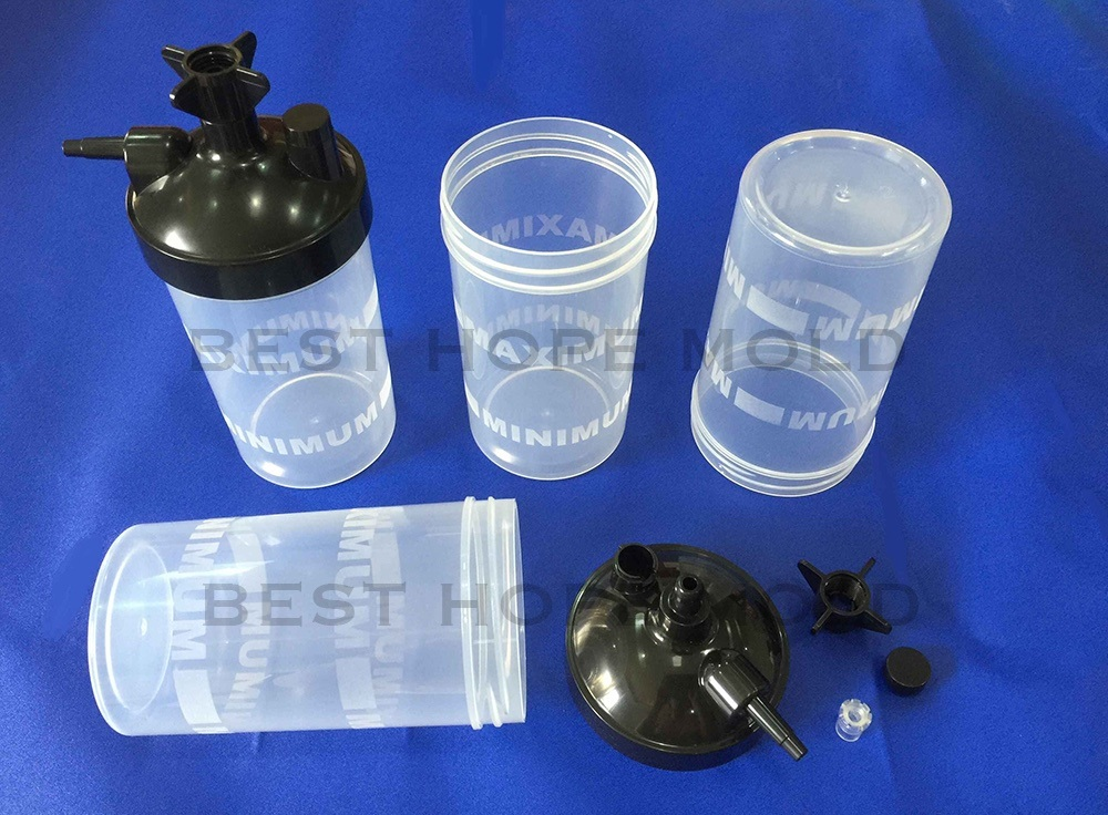 Oxygen Concentrator Humidifier Bottle Moulds