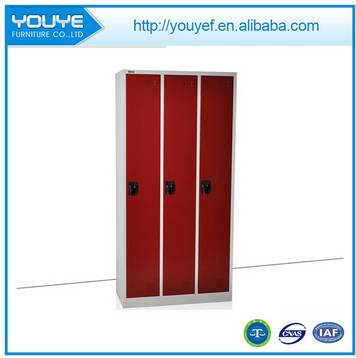 Multi colors metal cloth wardrobe