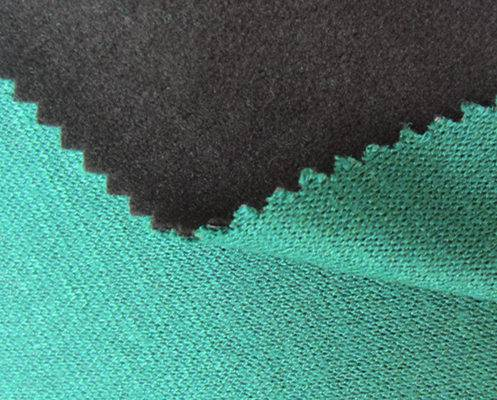 Single-color imitation knitting wool fabric+TPU+super-high velvet