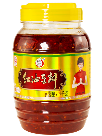 1000g broad bean sauce chili sauce for cook hot pot seasoning