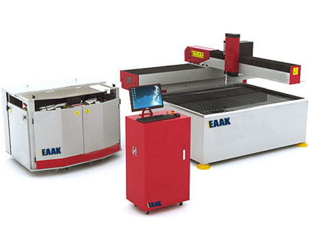 waterjet cutter for cutting stone metal glass
